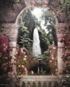 remix waterfallremix remixme colorful photography freetoedit