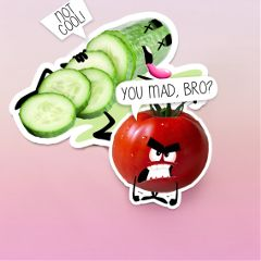 freetoedit remixit stickers vegetables