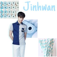 jinhwan ikon pastel blue pastelblue freetoedit