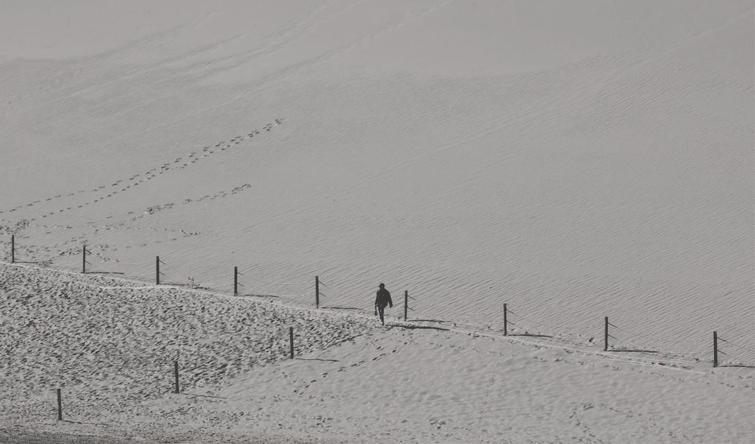 Desert #freetoedit #desert#black and white#Black and White