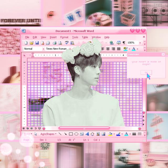 #pink #jin #bts #my edit