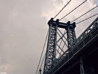 freetoedit williamsburgbridge lowangle againstthesky newyorkcity