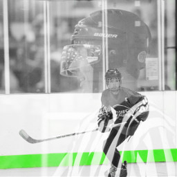 colorsplash doubleexposure hockey hockeylove hockeylife