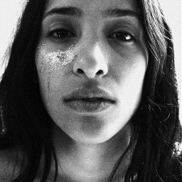 freetoedit remix portrait blackandwhite photography