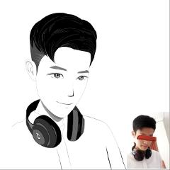 freetoedit illustration portrait boy