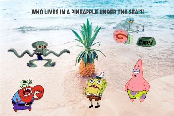 freetoedit spongebob patrickstar squidwardtentacles mrkrabs
