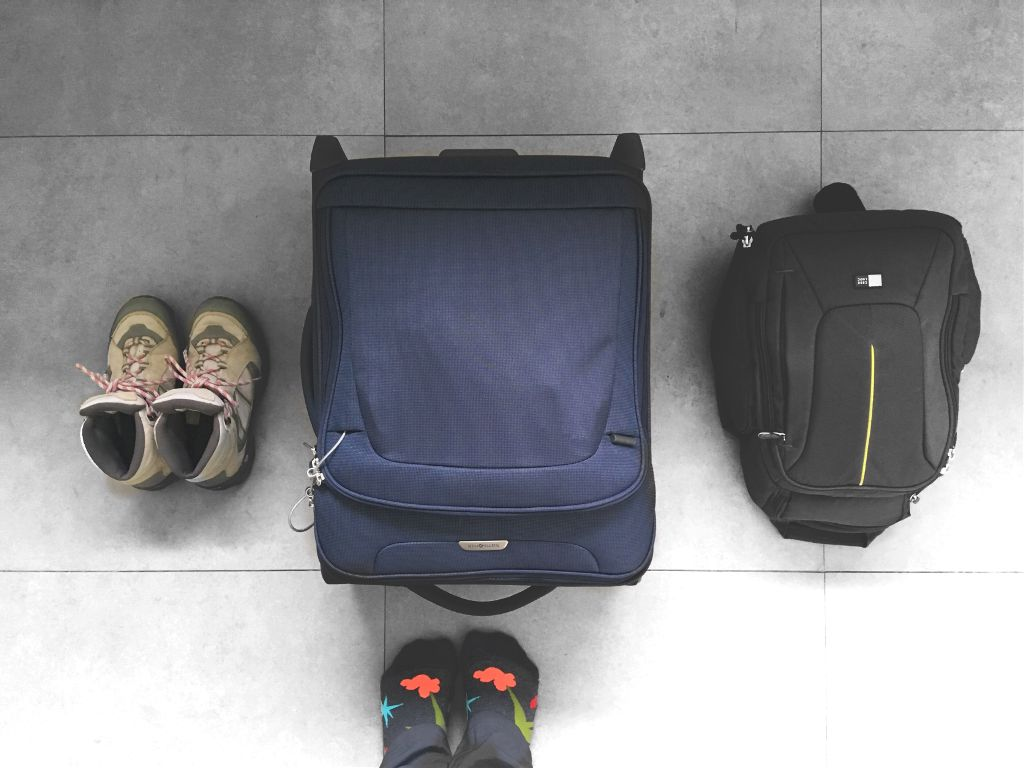 Travel Essentials: -Fancy Socks  -Camera -Carry on with all your essentials -The dirtiest shoes you can find!