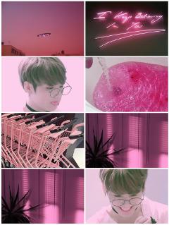 bts jungkook love pink cute