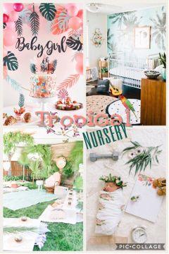freetoedit tropical nursery interesting baby