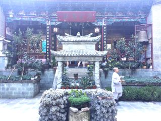 building temple buddhism travel summer