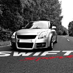 suzuki suzukiswift carphotography cars blackandwhite