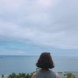beach korea kangwondo interesting sky
