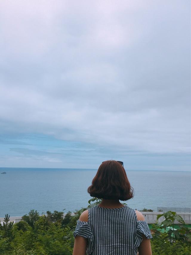 #beach #korea #kangwondo #interesting #sky #summer #sea #travel