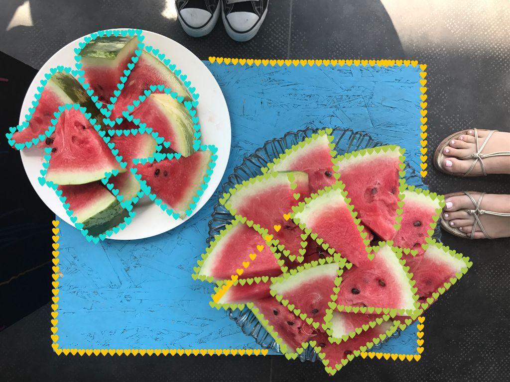 I love #watermelon 🍉 #freetoedit