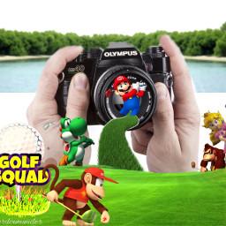 goodnight golf golfing cameraremix remixit ftestickers freetoedit