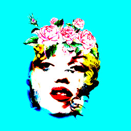 freetoedit queenmarilyn iconic popart andywarhol
