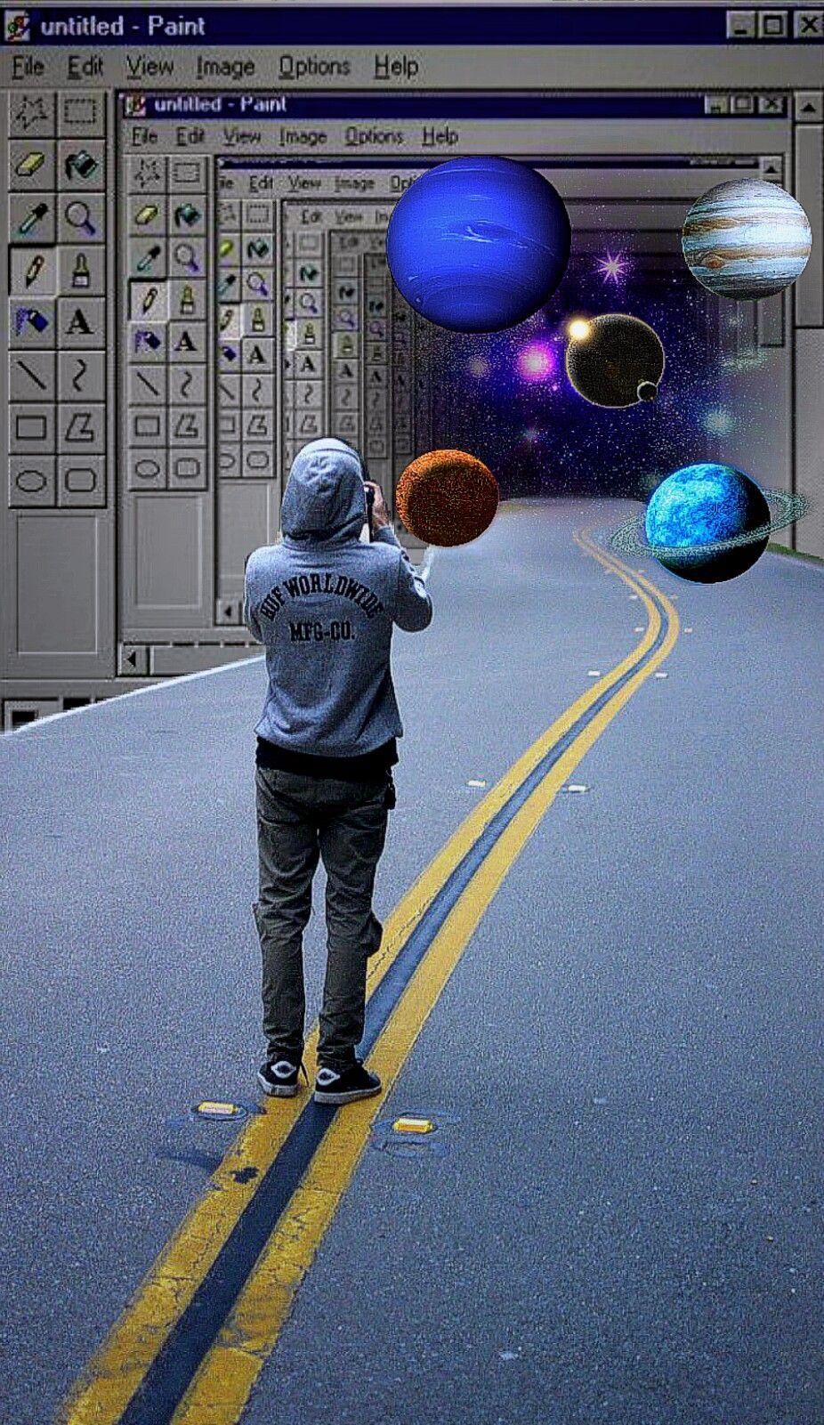 #galaxy #screen #paint #surrealistgate #surrealistgates