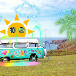 freetoedit stickersremixed peaceandlove summer sun