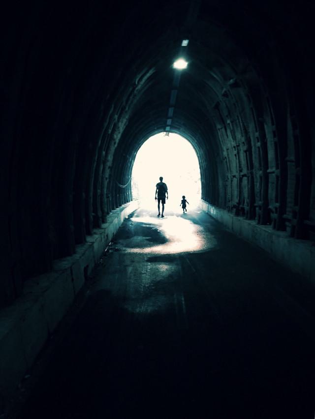 #freetoedit #tunnel #lightattheendofthetunnel #playwithlights