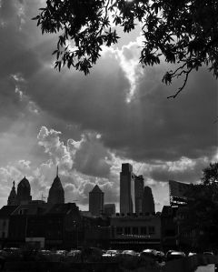philadelphia cityscape sky interesting