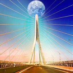 freetoedit photobyinstagram editedbymewithpicarsart bridge