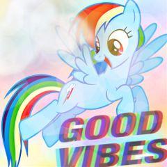 interesting mlp loyalty rainbow goodvibes