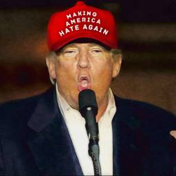 freetoedit notmypresident bigot racist resist