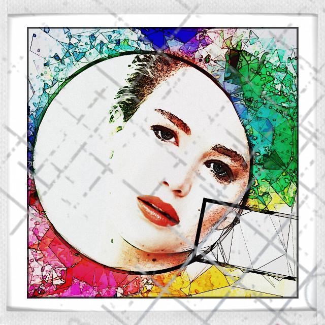 #freetoedit #art #interesting #womanportrait #woman #wonderful #jenniferlawrence