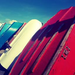 boats summer blueskye sunnyday sun freetoedit