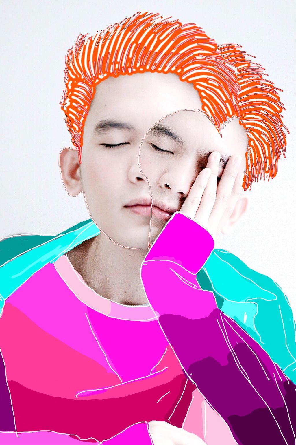 #freetoedit #freetoedit #edit #drawing #mydrawing #myedit #colorful #avantgarde #popart #remixit #remixed