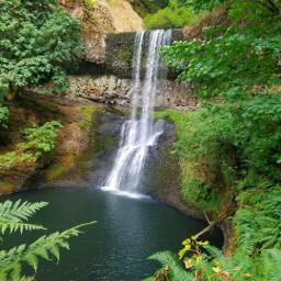 waterfall oregon nature photography optoutside