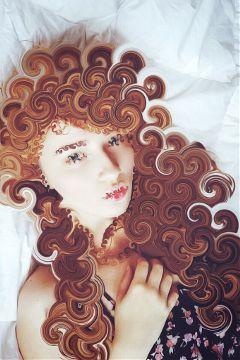 curls curlyhair twistedivvy stretchtool picsart freetoedit