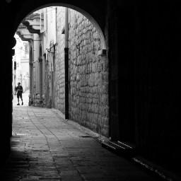 blackandwhite tunel streetphotography