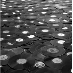 records aesthetic blackandwhite black tumblr freetoedit