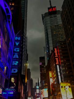 newyork night citylife citylights commercialstreet