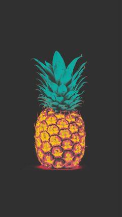wallpaper pineapple freetoedit