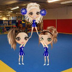 cheer cheerleading momio momioedit