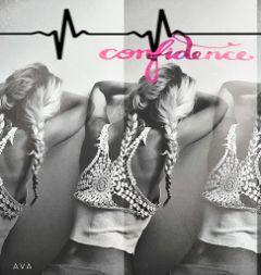 heartbeats braids confidence woman artsy confidence freetoedit