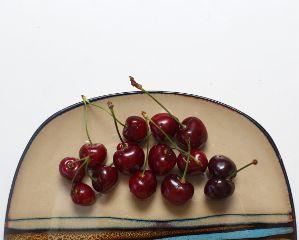 freetoedit sweetcherry plate food fruits