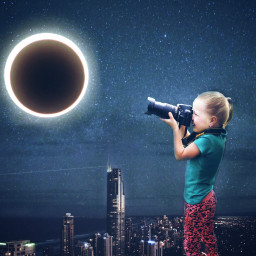 freetoedit re-edit eclipse2017 madewithpicsart edited