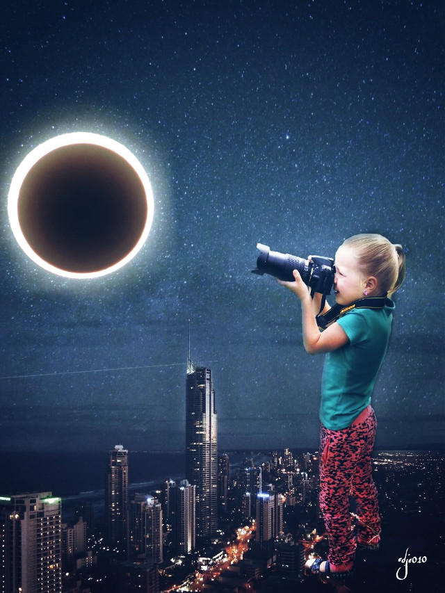 #re-edit my little big girl #eclipse2017 #madewithpicsart #edited #editstepbystep #editedbyme #draw #drawtools #picsartvip #picsart @picsart