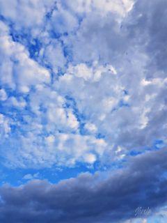 freetoedit clouds sky blue white
