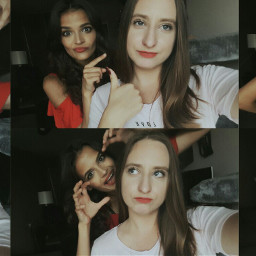 me friends girls funny crazy freetoedit