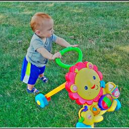 freetoedit walking boy outside summer