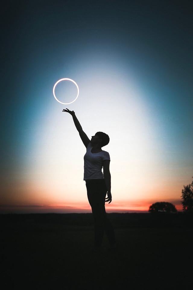 #eclipse #girl #sky #night #nature #interesting #summer #sunset #silhouette #moody #moon #madewithpicsart #picsart #picsartinhand #picoftheday #tones #art #photography #edit #beautiful