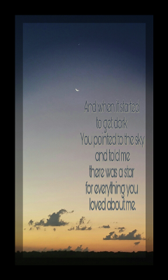 kansas quote sunset moon star
