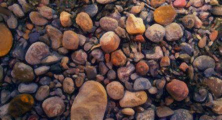 pebbles rocks photo oilpaintingeffect smartblureffect