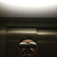 me selfie elevator goodday