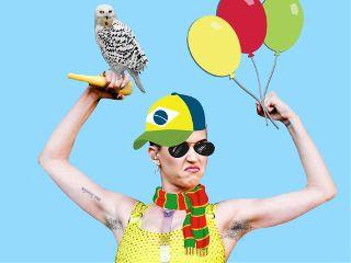freetoedit katyperry balloons owls cap