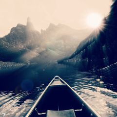 freetoedit boat lensflare blur